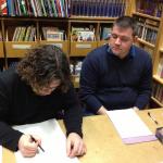 2013 Signierstunde mit Dalibor Talajić 004
