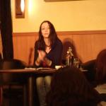 2015 Lesung mit Hanna-Linn