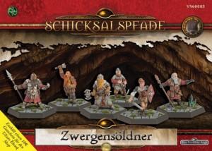 Schicksalspfade Miniaturenbox Zwergensöldner