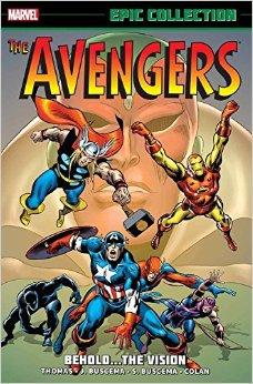 Avengers Behold Vision