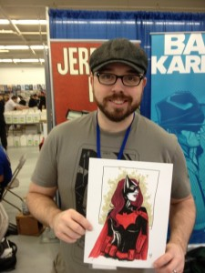 Jeremy with BW commission