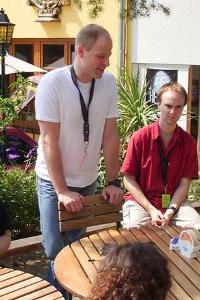 Tom bei Brot & Spiele 2004